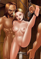 White slaves will be given to slave trainer to break them in!