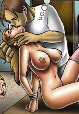 Forced femdom drawings of grim mistresses